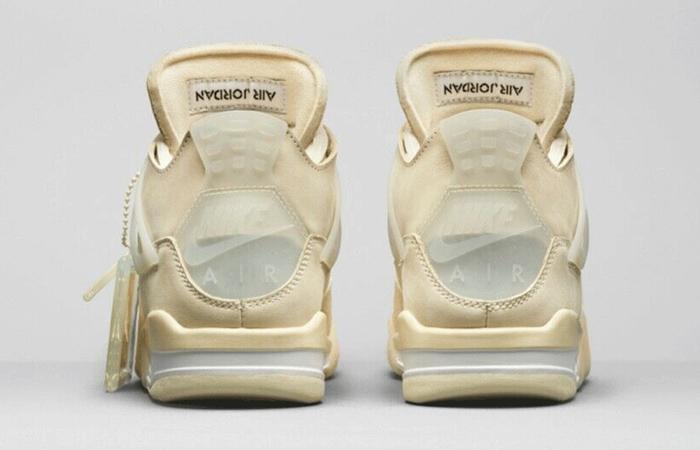 Off-White Nike Air Jordan 4 Sail CV9388-100 05