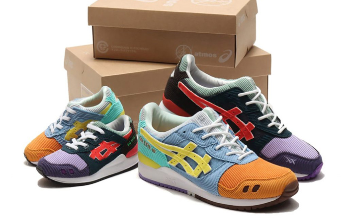 Sean Wotherspoon ASICS Atmos Gel-Lyte III Unveiled ft