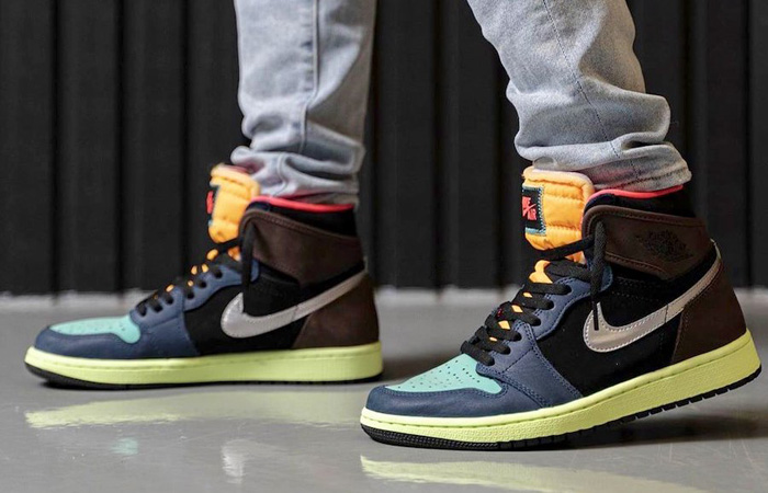 The Air Jordan 1 High OG Bio Hack Got Some On Foot Snaps! ft