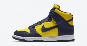 The Nike Dunk High Michigan Returning This Fall! 01