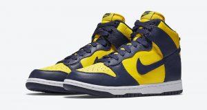 The Nike Dunk High Michigan Returning This Fall! 02