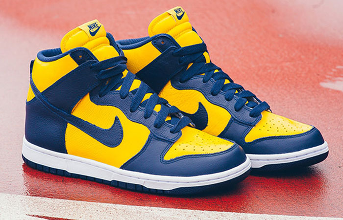 The Nike Dunk High Michigan Returning This Fall! ft