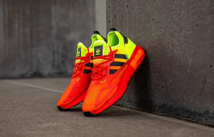 The adidas ZX 2K BOOST Coming WIth A Fiery Look! ft