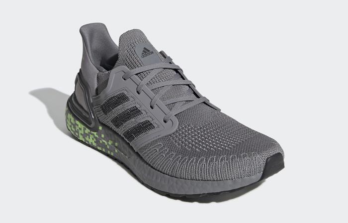 adidas Performance Ultra Boost 20 Grey Black EG0705 02