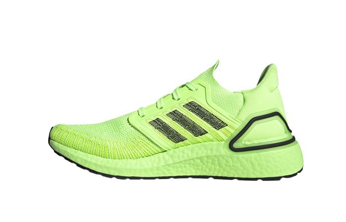 adidas Performance Ultra Boost 20 Signal Green EG0710 01