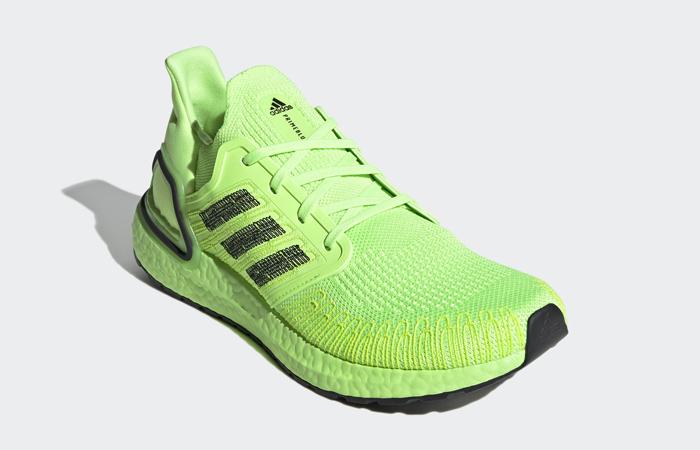 adidas Performance Ultra Boost 20 Signal Green EG0710 02