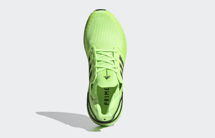 adidas Performance Ultra Boost 20 Signal Green EG0710 04