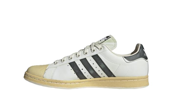 adidas Stan Smith Superstan Shine White Black FW6095 01