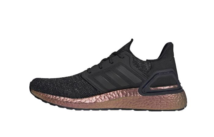 adidas Ultra Boost 20 Black Rose Gold