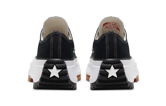 Converse Run Star Hike Low Top Black 168816C 05