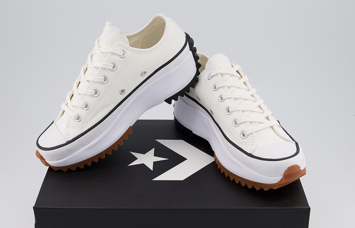 Converse Run Star Hike Low Top White