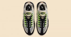 Detailed Look Updated For The Denham Nike Air Max 95 Neon Black 04