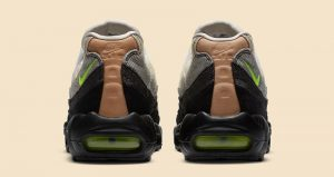 Detailed Look Updated For The Denham Nike Air Max 95 Neon Black 05