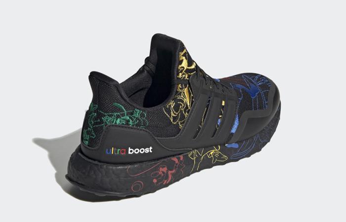 Disney adidas Ultra Boost Black Embroidered FV6050 05
