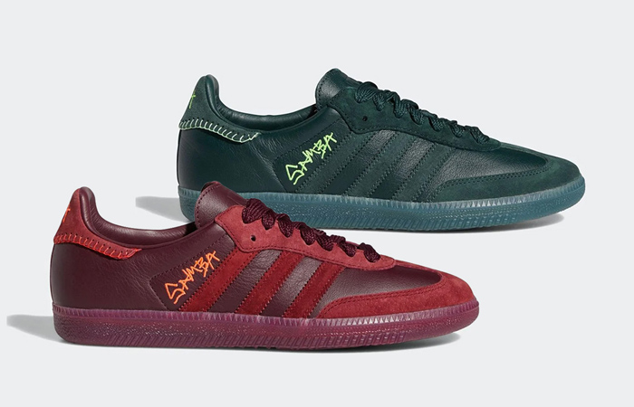 Displaying Official Images Of Jonah Hill's adidas Samba ft