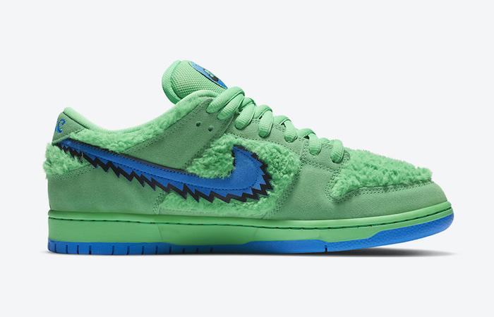 Grateful Dead Nike SB Dunk Low QS Green CJ5378-300 03