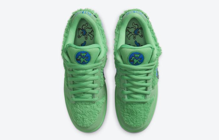 Grateful Dead Nike SB Dunk Low QS Green CJ5378-300 04