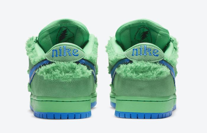 Grateful Dead Nike SB Dunk Low QS Green CJ5378-300 05