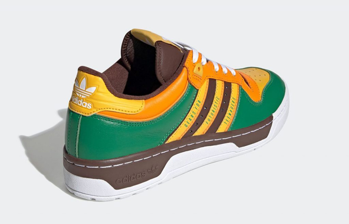 Human Made adidas Rivalry Low Green FY1084 05