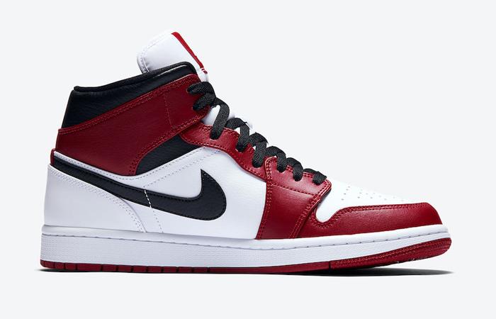 Jordan 1 Mid Chicago 2020 Red White 554724-173 03