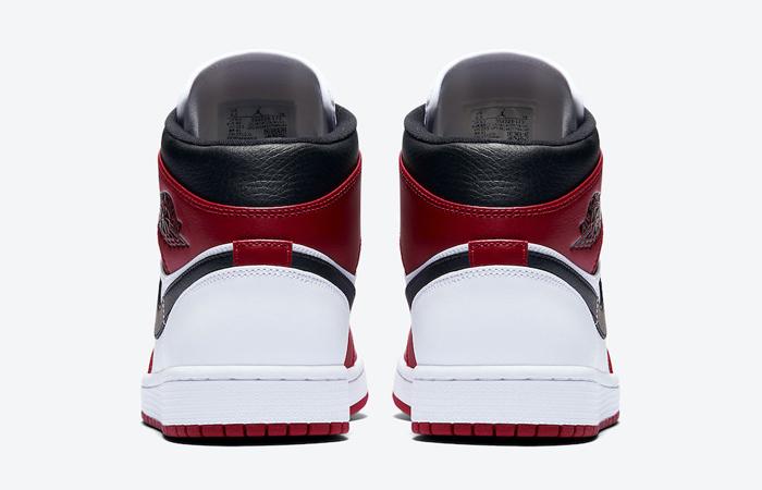 Jordan 1 Mid Chicago 2020 Red White 554724-173 05