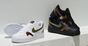 Multi Swooshes Can Be Seen On The New Nike Air Force 1