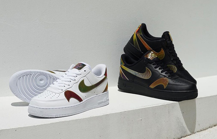 Multi Swooshes Can Be Seen On The New Nike Air Force 1 ft