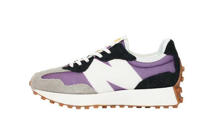 new balance 327 purple