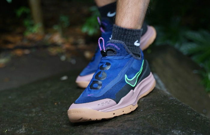 Nike ACG Zoom Air AO Blue Void CT2898-401 on foot 02