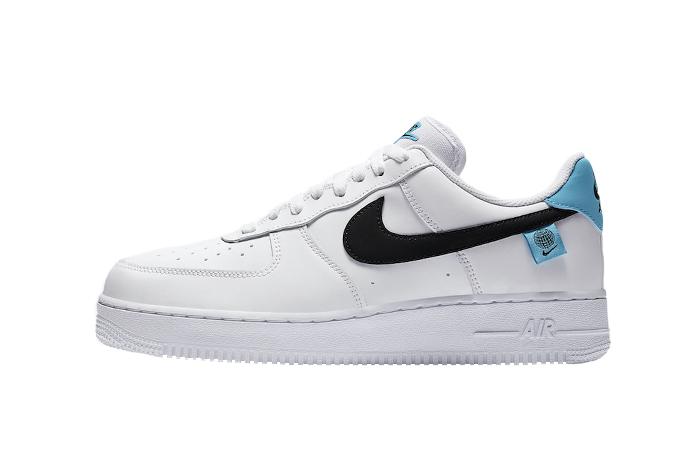 Nike Air Force 1 07 Worldwide Pack Blue Fury CK7648-100 01