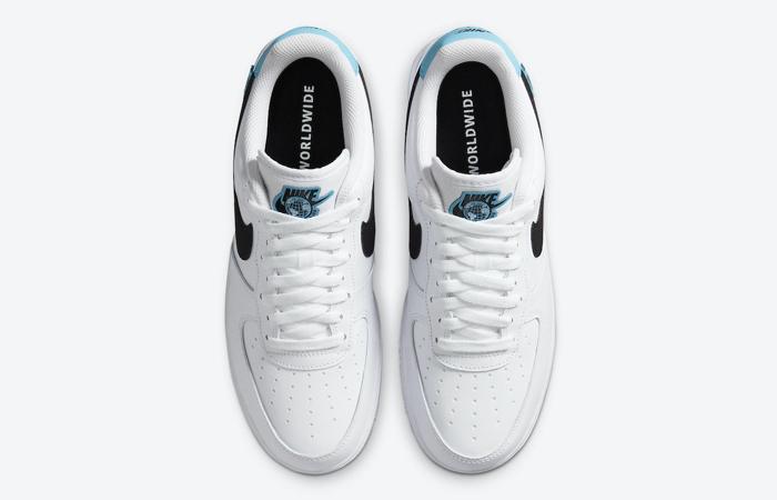 Nike Air Force 1 07 Worldwide Pack Blue Fury CK7648-100 06