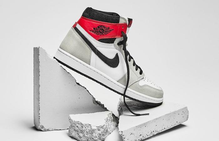 Nike Air Jordan 1 Retro High Light Smoke Grey 555088-126 02