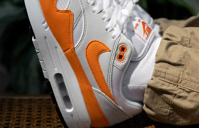 Nike Air Max 1 Anniversary Orange DC1454-101 on foot 03
