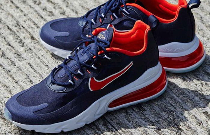 Nike Air Max 270 React Navy USA CT1280-400 06