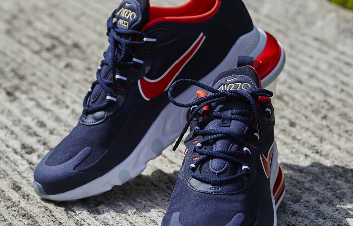 Nike Air Max 270 React Navy USA CT1280-400 07