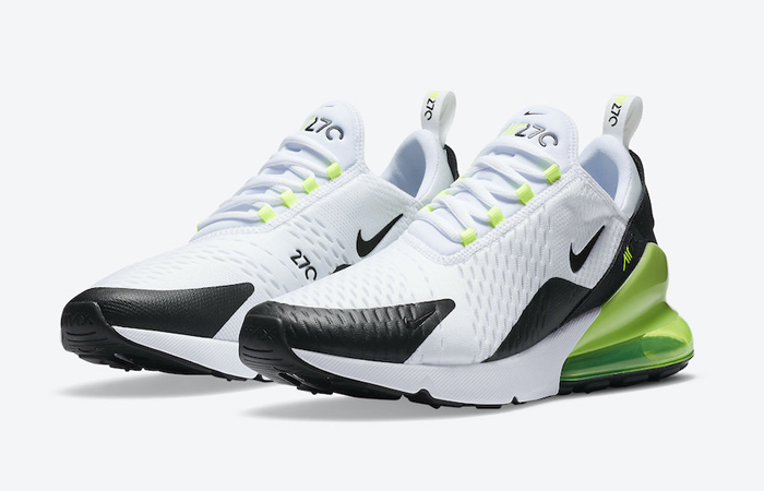 Nike Air Max 270 White Lime DC0957-100 02