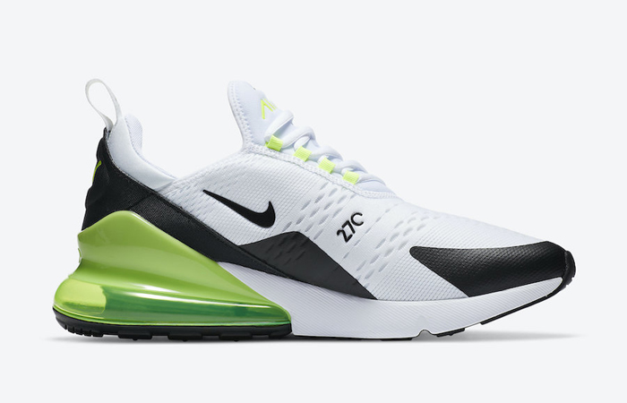 Nike Air Max 270 White Lime DC0957-100 03