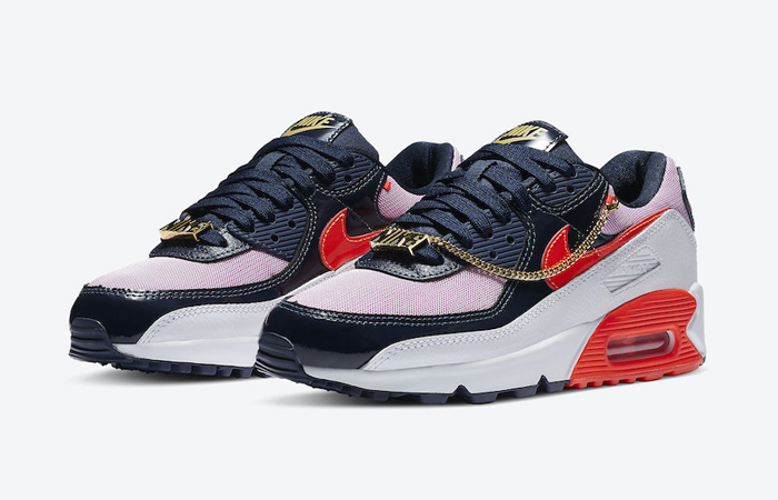 """Nike Air Max 90 """"Cuban Link"""" Gets Another Look! ft"""