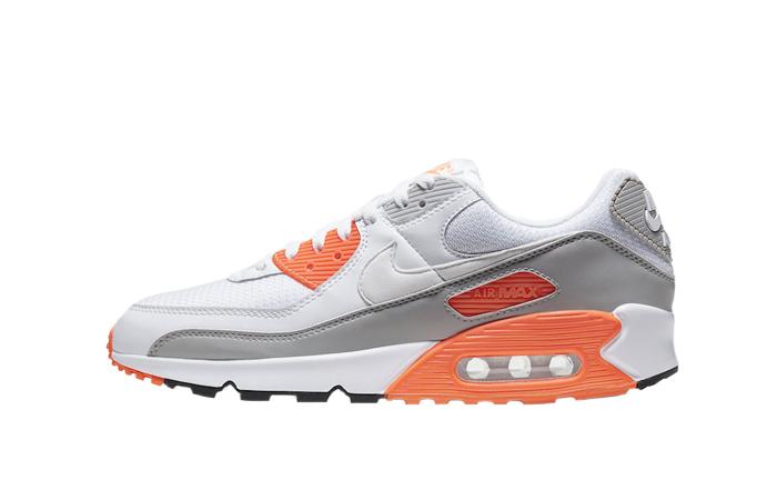Nike Air Max 90 Orange Grey CT4352-103 01