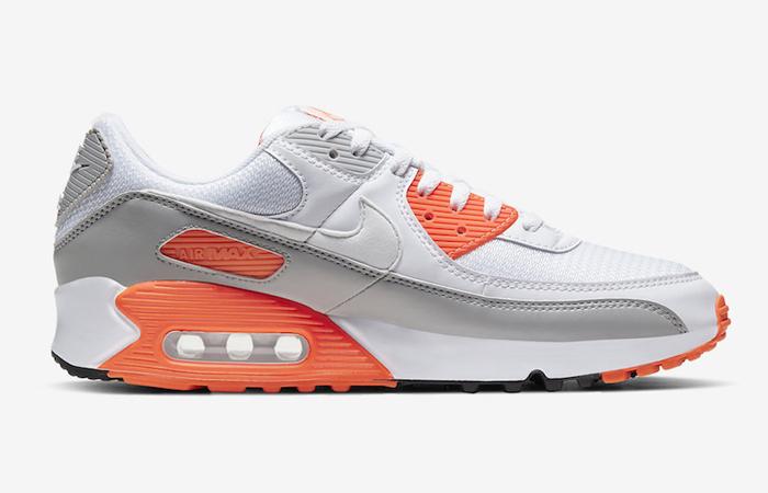 Nike Air Max 90 Orange Grey CT4352-103 03