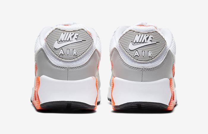 Nike Air Max 90 Orange Grey CT4352-103 05