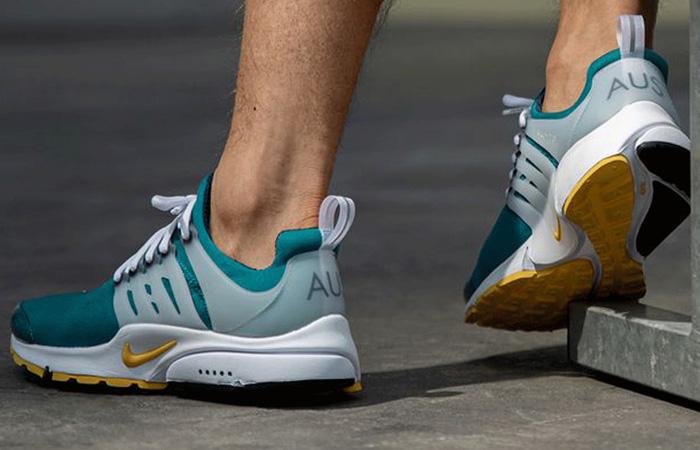 Nike Air Presto Australia Olympic Fresh Water CJ1229-301 on foot 03