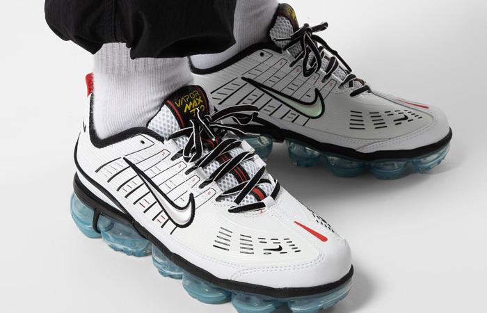 Nike Air VaporMax 360 White Aqua CQ4535-100 on foot 01