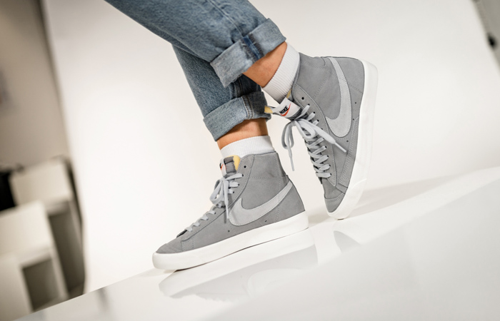 Nike Blazer Mid 77 Platinum Sail Is Only £50 At Offspring! ft