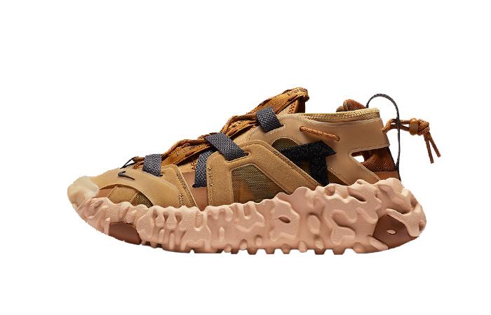 Nike ISPA OverReact Sandal Wheat CQ2230-700 01
