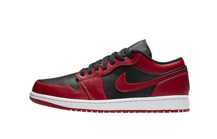 Nike Jordan 1 Low Red Black 553558-606 01