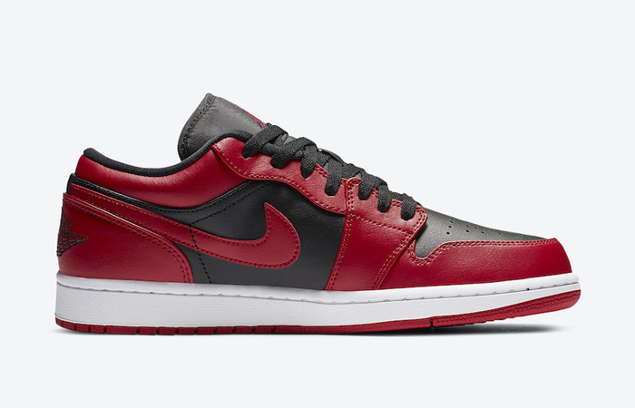 Nike Jordan 1 Low Red Black 553558-606 03