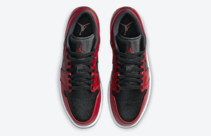 Nike Jordan 1 Low Red Black 553558-606 04