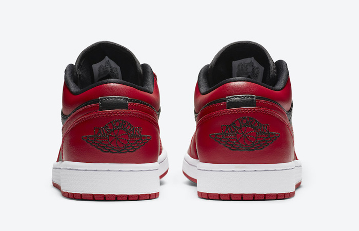 Nike Jordan 1 Low Red Black 553558-606 05