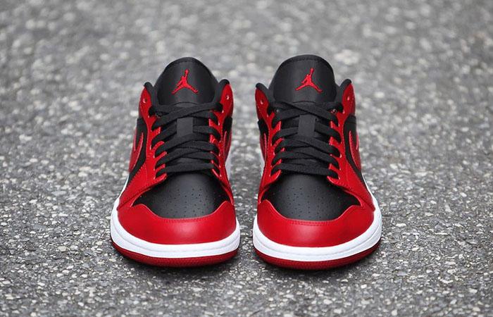 Nike Jordan 1 Low Red Black 553558-606 07